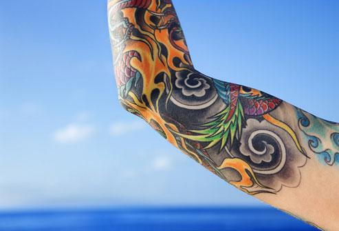 Татуировки не так безопасны как мы раньше считали