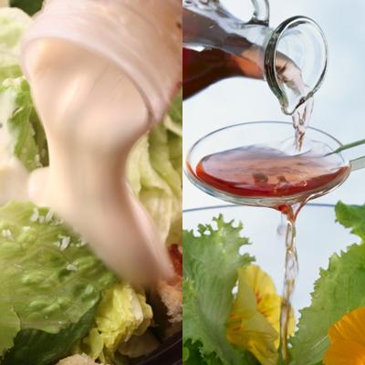 фото салатных заправок