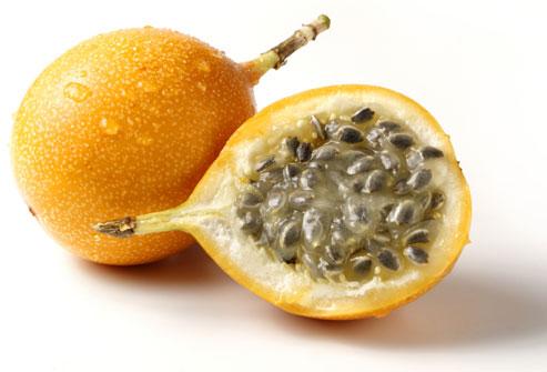 В каждом фрукте маракуйи всего лишь 16 каллорий!