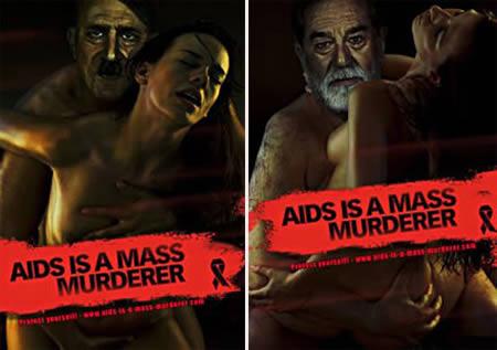 фото немецкой социальной рекламы против ВИЧ/СПИД
