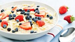 белок на завтрак